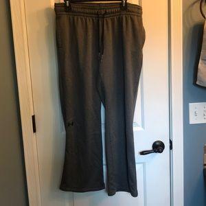 UA Bootleg Fleece Sweatpants